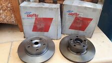 Fiat 130 rotors and brake pads (Brand new set of 4)