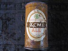 Acme Ale, flat top beer can.San Francisco, Calif.