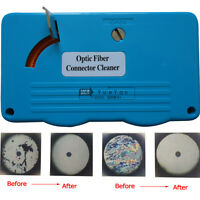 Optic Fiber Connector Cleaner Cleaning Cassettes 500 Cleans SC FC ST DIN D4 MU