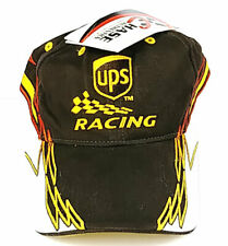 NWT Chase Authentics UPS Racing #44 Cap Hat, Brown