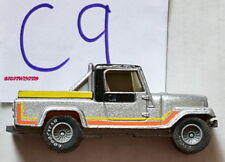 HOT WHEELS JEEP SRAMBLER W GREY HUBS HONG KONG W+