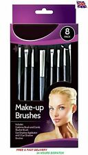 NUOVO 8 Pack Glamorize Make Up Brush Set Pennelli Ombretto Fard Brow