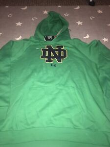 Under Armour Notre Dame Fighting Irish All Day Sweatshirt Pullover Hoodie 3XL