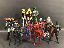 "MARVEL UNIVERSE AVENGERS LOT OF 10 3.75"" FIGURES LEGENDS SHE HULK TASKMASTER"