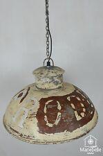 Industrielampe Vintage Shabby Bauhaus Hänge Lampe Loft Retro Decken Leuchte