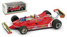 Brumm R574-CH Ferrari 312 T5 #1 Argentine GP 1980 - Jody Scheckter 1/43 Scale