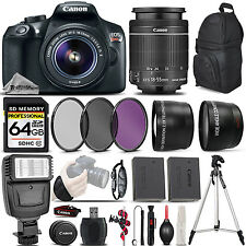 Canon EOS Rebel T6 DSLR Camera + Canon 18-55mm IS II - Ultimate Saving Bundle