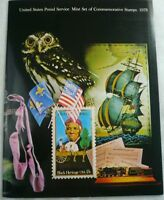 1978 Mint Set Commemorative USPS Souvenir Yearbook Album with Stamps Free Ship