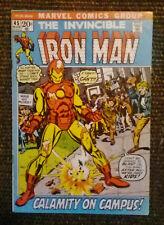 Iron Man #45 (Marvel Comics,1972) FN