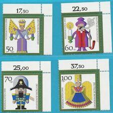 Bund aus 1990 ** postfrisch MiNr.1484-1487 Ecke oben rechts - Weihnachten!
