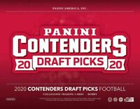 2020 Panini Contenders Draft Picks Collegiate Football Hobby Box PRESALE 05/27