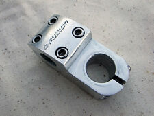 """Fusion Old School 1 1/18"""" Threadless Stem for BMX and Freestyle Bikes Silver"""