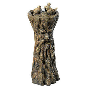 Magical Man of the Forest Tree People Giant Greenman Water Fountain Sculpture