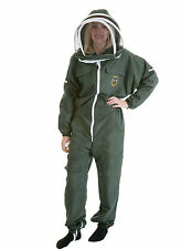 Lightweight BUZZ Beekeepers Bee suit - Colour Forest Green. Size: SMALL