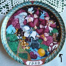 "New ListingBing & Grondahl 1989 ""Santa's Workshop"" Mfg. imperfection Plate No. 3. 256 C"