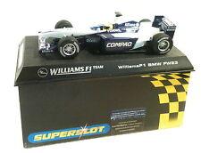 qq H 2334 SUPERSLOT BMW WILLIAMS F1  FW23 No 5 R SCHUMACHER - Scalextric UK -