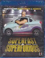 CM - SUPERFAST & SUPERFURIOUS Di Jason Friedberg BLU RAY NUOVO