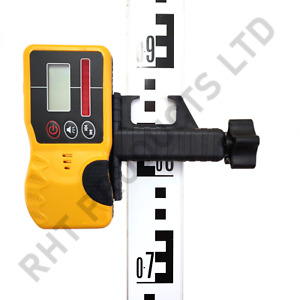 Rotating Laser Detector / Receiver Rodeye for Leica, Topcon, Spectra, UK Seller