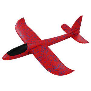 Styropor Flugzeug, Flieger, Wurfgleiter 49 cm, Outdoor Wurfspiel