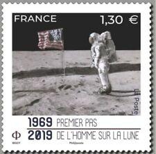 France 2019 Premier pas de l'Homme sur la Lune 1969 - 2019 MNH / Neuf**