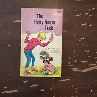 1969 The Hairy Horror Trick by Scott Corbett Paperback