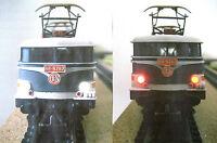 NEW éclairage inversé BLANC & ROUGE a leds BB 9200 BB25110 BB16001 neuf