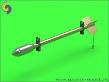 RP-3 ROCKETS (8PCS) TO TYPHOON, HURRICANE, MOSQUITO LATE RAILS #012 1/24 MASTER