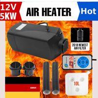 5KW 12V Air diesel Auto Heizung Luftheizung Heizgerät Standheizung +LED Schalter
