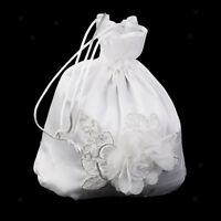 Neuf ivoire satin personnalisé mariage mariée//demoiselle d/'honneur//nº dolly sac