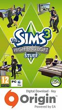 Les sims 3 high end loft stuff pack mac et pc origin key