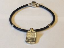 on a Faux Leather Snake Bracelet Laptop Tg321 Made From Fine English Pewter