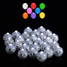 50 Led Ball Lamps Balloon Light for Paper Lantern Wedding Party Decoration In Us
