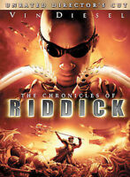 CHRONICLES OF RIDDICK (DVD, 2004, Unrated Director's Widescreen) NEW WITH SLEEVE