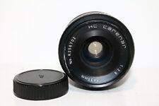 m42 Mount objetivamente F Porst gran angular Mc Auto f 35mm f2.8 DSLR puede ser adaptado