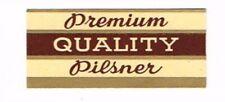 1940s PENNSYLVANIA Allentown HORLACHER BEER Neck Label Tavern Trove
