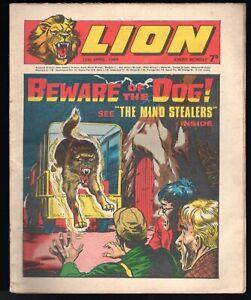 The Lion April 12, 1969 UK Fleetway Tabloid-Cap Condor, Robot Archie, The Spider