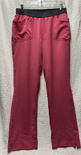 Cherokee Infinity Low Rise Slim Pull On Pink Size Medium Tall Scrub Pants 1124At