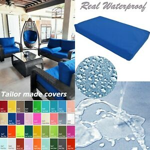 TAILOR MADE COVER*Patio Bench Cushion Waterproof Outdoor Swing Sofa Daybed Dw15