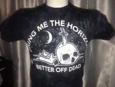 """Bring Me The Horizon Better Off Dead Adult S 34"""" Tie Dye Smoke T Shirt Band Tee"""