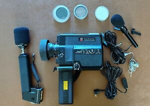 Vintage Canon 514 XL-S Super 8 movie camera in working condition