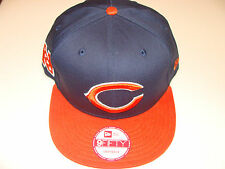New Era Hat Cap NFL Football Chicago Bears BayChik Snapback Hat Adj 2012