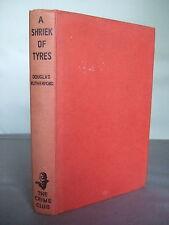 A Shriek of Tyres by Douglas Rutherford - Motor Racing HB 1958