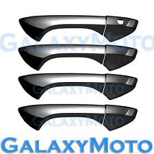 08-12 HONDA ACCORD Black Chrome plated ABS 4 Door Handle W/O PSG Keyhole Cover
