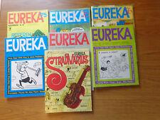 fumetti LOTTO 7 VOLUMI EUREKA ANNI DAL 1967 AL 1976 libro NUMISMATICA SUBALPINA
