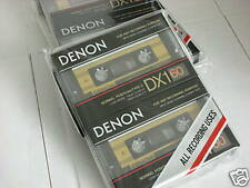 Denon DX1-60 Two Pack Audio Cassette Tape Made in Japan