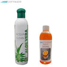 Duftstoff Aloe Vera + LUFTMAXX Fresh Orange für Lufterfrischer Luftreiniger