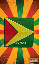 Guyana Head Scarf Bandana Print caribbean pride roots & culture