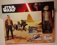 Star Wars The Force Awakens 12-Inch Speeder Bike Moto Speeder Toy Set