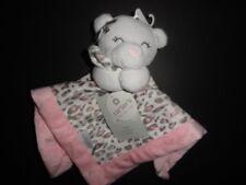 NWT Carter's Girl's Cheetah Bear Pink Security Blanket/Lovey