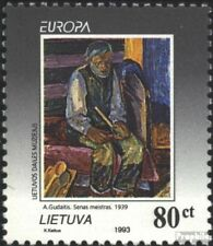 Lithuania 544 (complete issue) unmounted mint / never hinged 1993 Art